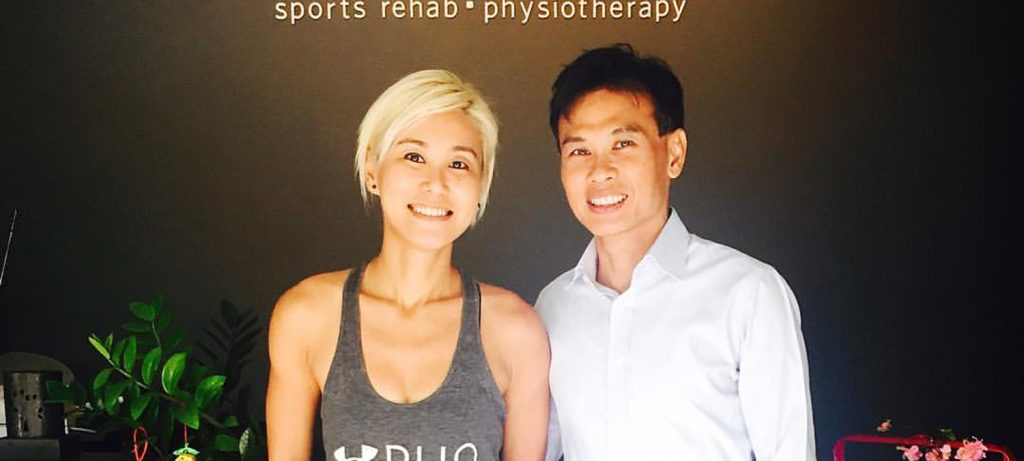Physiotherapist Gino Ng