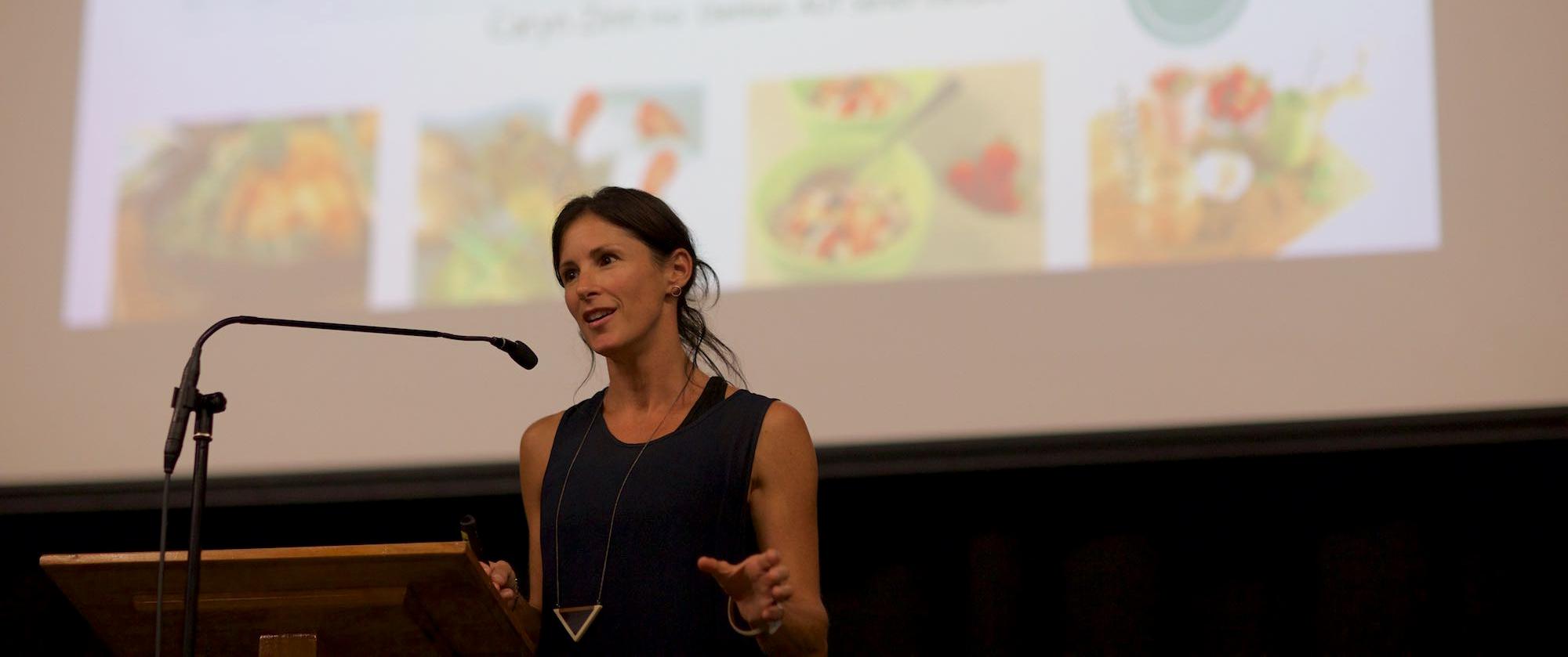 Dietician Caryn Zinn